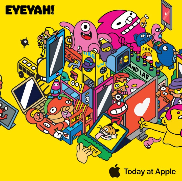 EYEYAH! @ Today at Apple