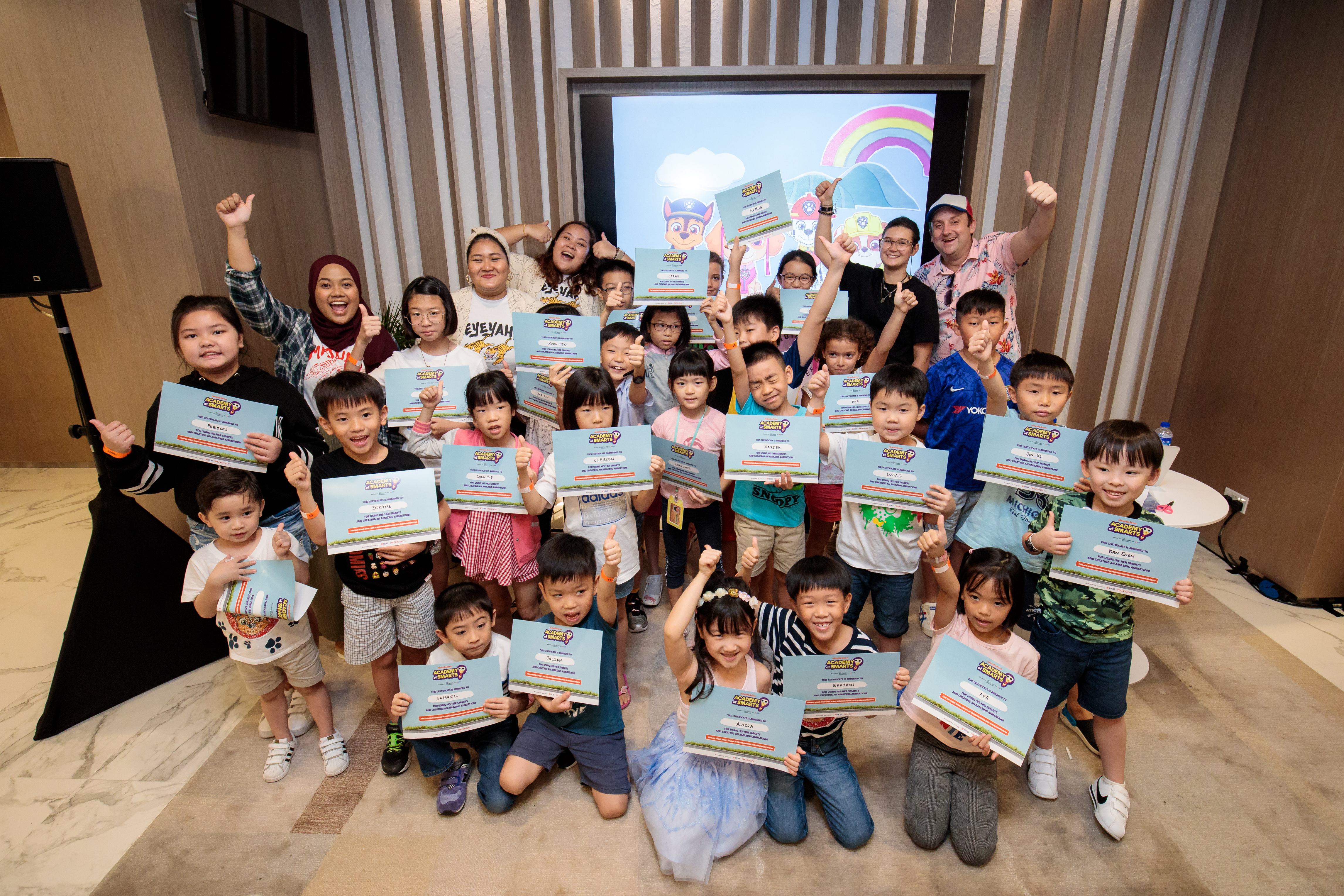 Well done to our stop motion animation masterclass participants!