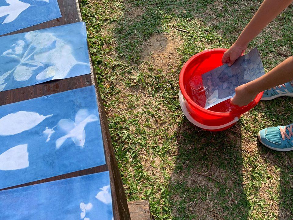 Drop-in activities in the sun