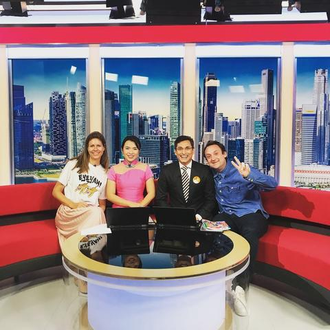 EYEYAH Founders on Channel News Asia