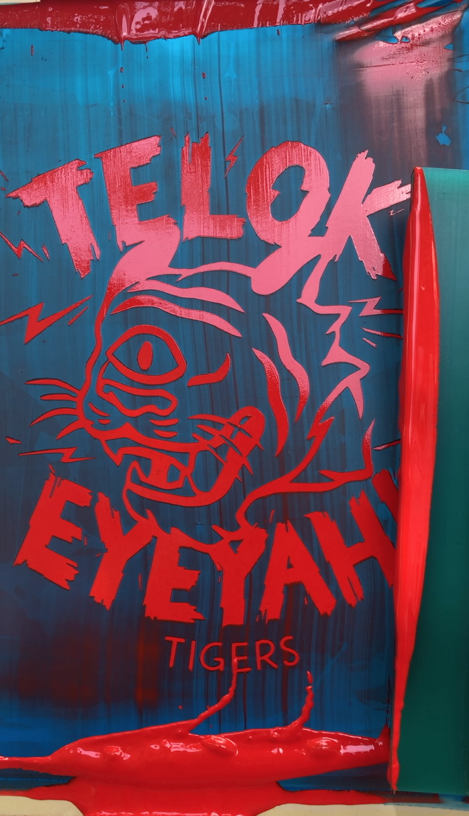 Telok EYEYAH! Tigers - a limited edition National Day design