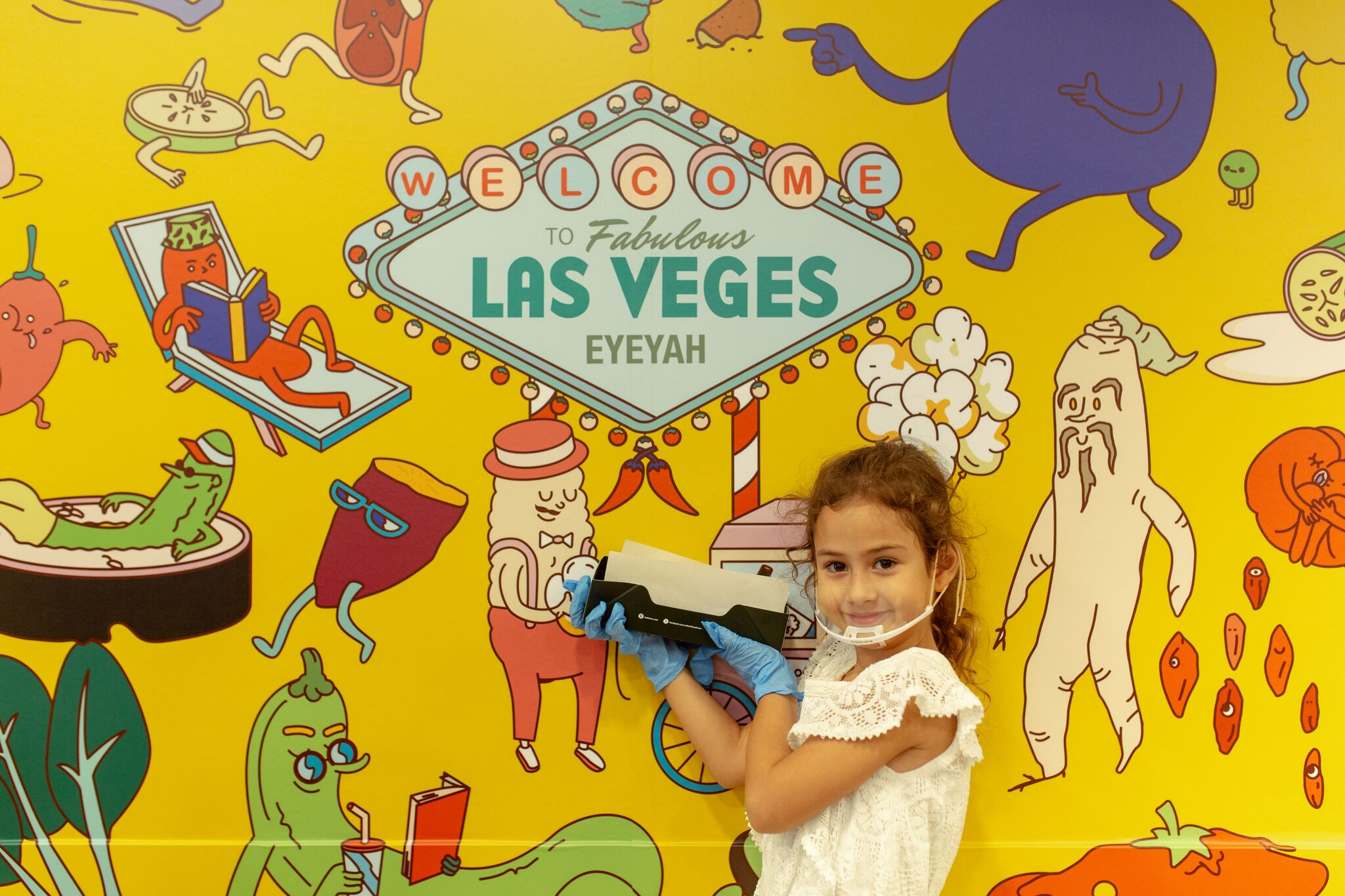 Fabulous Las Veges wall design by HelloPingu